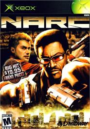 Box cover for Narc on the Microsoft Xbox.