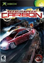 Box cover for Need for Speed: Carbon on the Microsoft Xbox.