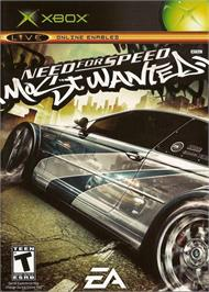 Box cover for Need for Speed: Most Wanted (Black Edition) on the Microsoft Xbox.
