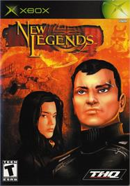 Box cover for New Legends on the Microsoft Xbox.