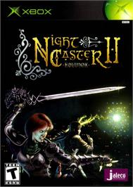 Box cover for Nightcaster II: Equinox on the Microsoft Xbox.