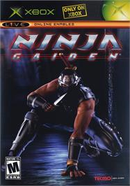 Box cover for Ninja Gaiden on the Microsoft Xbox.