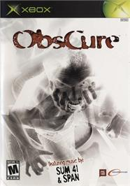 Box cover for ObsCure on the Microsoft Xbox.