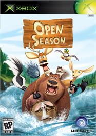 Box cover for Open Season on the Microsoft Xbox.