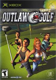 Box cover for Outlaw Golf: Holiday Golf on the Microsoft Xbox.