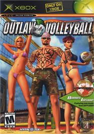 Box cover for Outlaw Volleyball: Red Hot on the Microsoft Xbox.