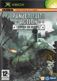 Box cover for Panzer Elite Action: Fields of Glory on the Microsoft Xbox.