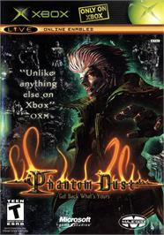 Box cover for Phantom Dust on the Microsoft Xbox.