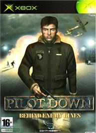 Box cover for Pilot Down: Behind Enemy Lines on the Microsoft Xbox.