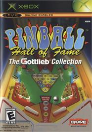 Box cover for Pinball Hall of Fame: The Gottlieb Collection on the Microsoft Xbox.
