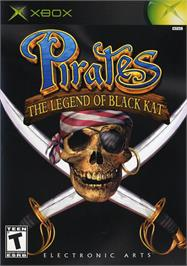 Box cover for Pirates: The Legend of Black Kat on the Microsoft Xbox.