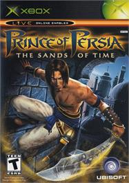 Box cover for Prince of Persia: The Sands of Time on the Microsoft Xbox.