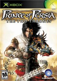 Box cover for Prince of Persia: The Two Thrones on the Microsoft Xbox.