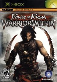 Box cover for Prince of Persia: Warrior Within on the Microsoft Xbox.