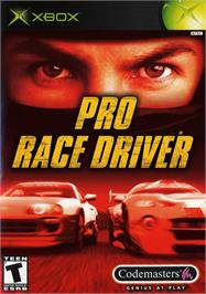 Box cover for Pro Race Driver on the Microsoft Xbox.