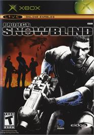 Box cover for Project: Snowblind on the Microsoft Xbox.