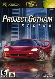 Box cover for Project Gotham Racing on the Microsoft Xbox.