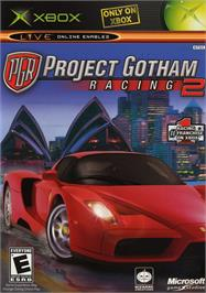 Box cover for Project Gotham Racing 2 on the Microsoft Xbox.