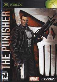 Box cover for Punisher, The on the Microsoft Xbox.