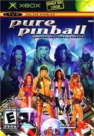 Box cover for Pure Pinball on the Microsoft Xbox.
