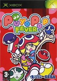 Box cover for Puyo Pop Fever on the Microsoft Xbox.