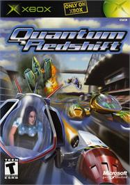 Box cover for Quantum Redshift on the Microsoft Xbox.