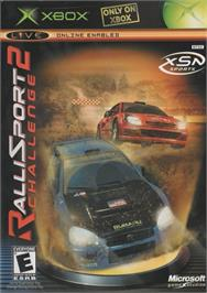 Box cover for RalliSport Challenge 2 on the Microsoft Xbox.