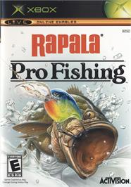 Box cover for Rapala Pro Fishing on the Microsoft Xbox.