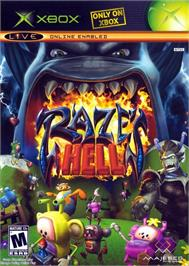 Box cover for Raze's Hell on the Microsoft Xbox.