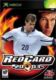 Box cover for RedCard 20-03 on the Microsoft Xbox.