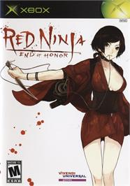 Box cover for Red Ninja: End of Honor on the Microsoft Xbox.