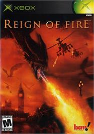 Box cover for Reign of Fire on the Microsoft Xbox.