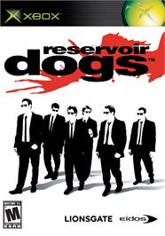 Box cover for Reservoir Dogs on the Microsoft Xbox.