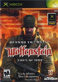 Box cover for Return to Castle Wolfenstein: Tides of War on the Microsoft Xbox.