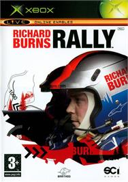 Box cover for Richard Burns Rally on the Microsoft Xbox.