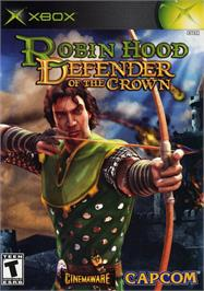 Box cover for Robin Hood: Defender of the Crown on the Microsoft Xbox.