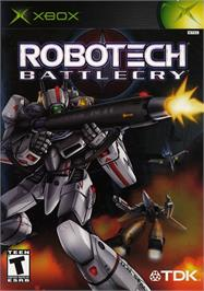Box cover for Robotech: Battlecry on the Microsoft Xbox.