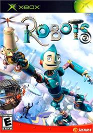Box cover for Robots on the Microsoft Xbox.