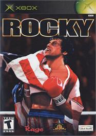 Box cover for Rocky on the Microsoft Xbox.