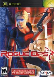 Box cover for Rogue Ops on the Microsoft Xbox.