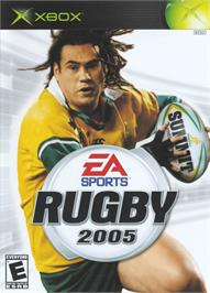 Box cover for Rugby 2005 on the Microsoft Xbox.