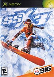 Box cover for SSX 3 on the Microsoft Xbox.