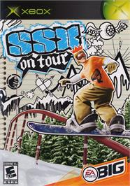 Box cover for SSX on Tour on the Microsoft Xbox.