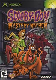 Box cover for Scooby Doo!: Mystery Mayhem on the Microsoft Xbox.