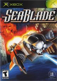 Box cover for SeaBlade on the Microsoft Xbox.