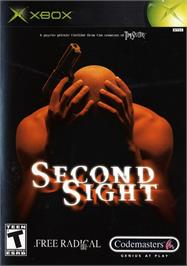 Box cover for Second Sight on the Microsoft Xbox.