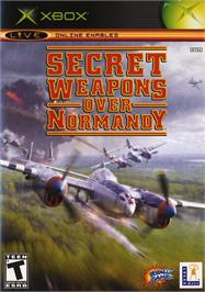 Box cover for Secret Weapons Over Normandy on the Microsoft Xbox.