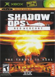 Box cover for Shadow Ops: Red Mercury on the Microsoft Xbox.