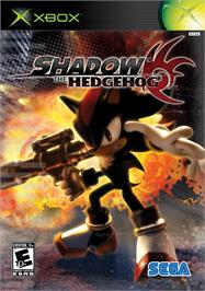 Box cover for Shadow the Hedgehog on the Microsoft Xbox.