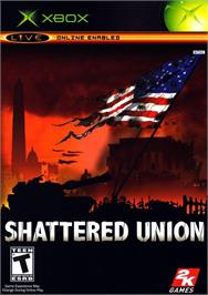 Box cover for Shattered Union on the Microsoft Xbox.